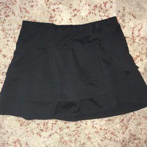 Athleta Swagger Tiered Ruffle Skort Skirt Tennis